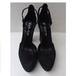 Coach Ankle strap Pump Size 6.5 or 7